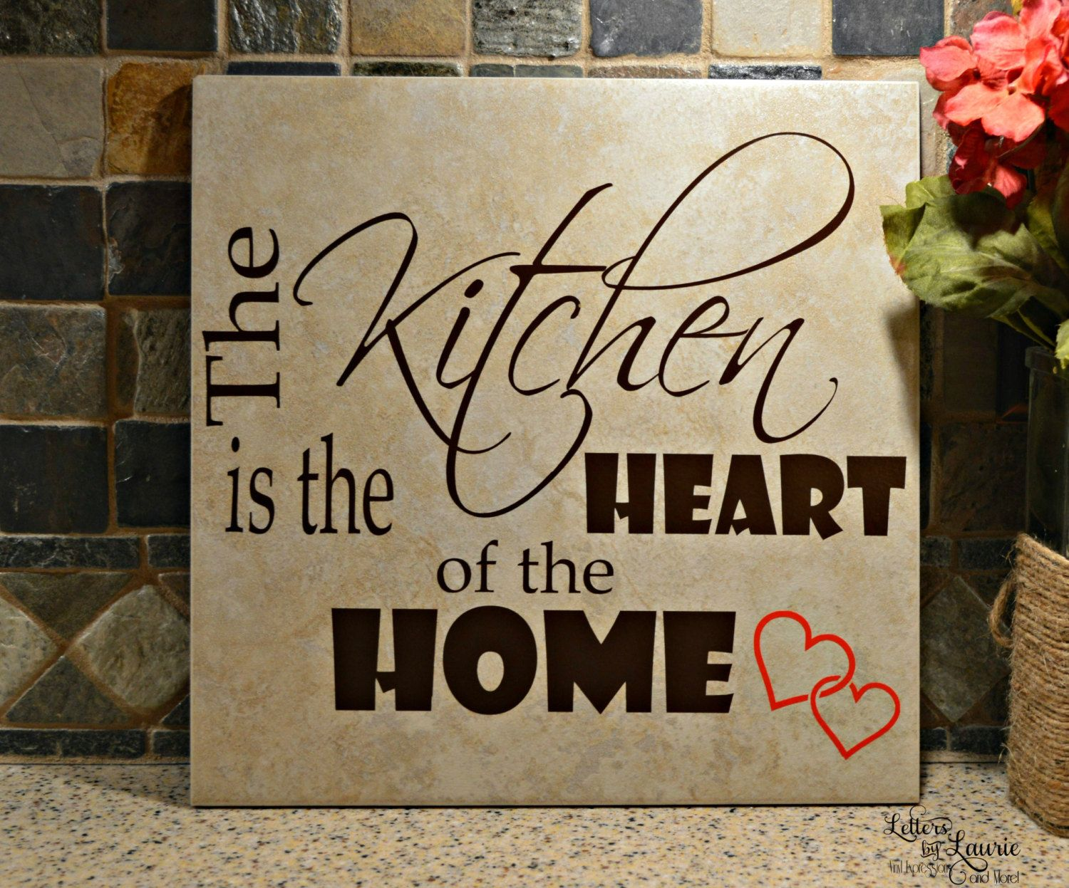 Kitchen Gift For Mom Mothers Gift The Kitchen Is The Heart Of The Home Mothers Gift