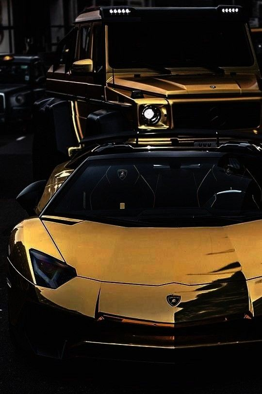 Billionaire gold plated supercars. When normal luxury cars aren't enoug... /...Luxury Lifestyle : W