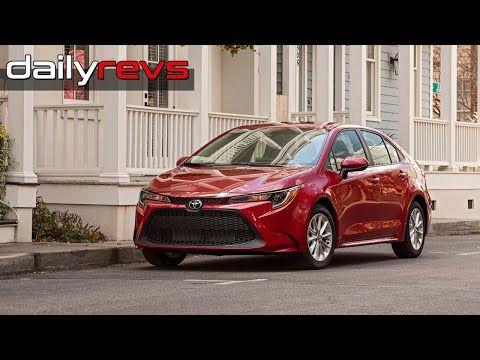 2020 Toyota Corolla Le Driving Exterior Interior Youtube