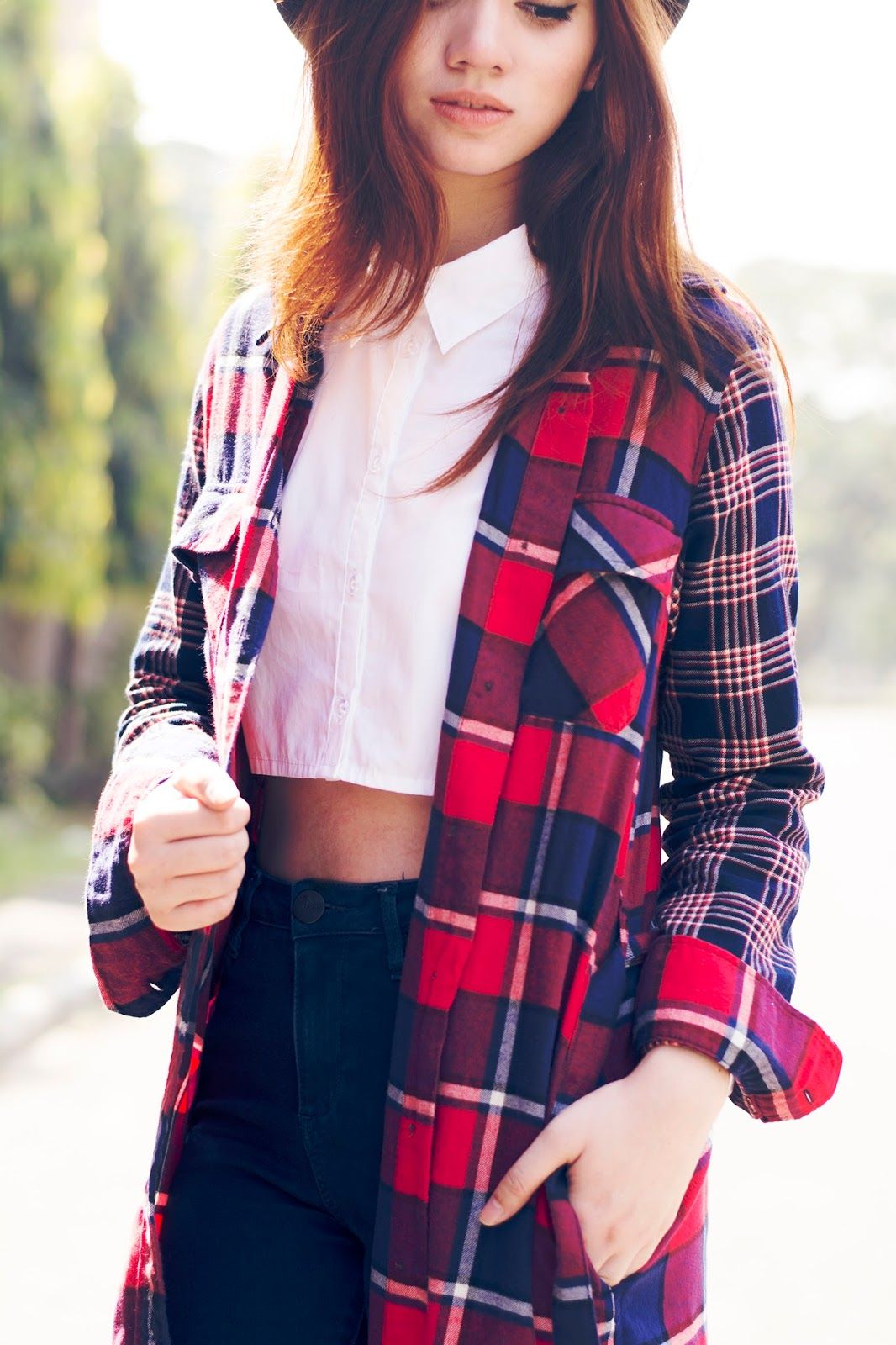 Brewing Happiness: UNIQLO FLANNEL x AILEEN CLARISSE: FOR THE RED, WHITE, AND BLUE