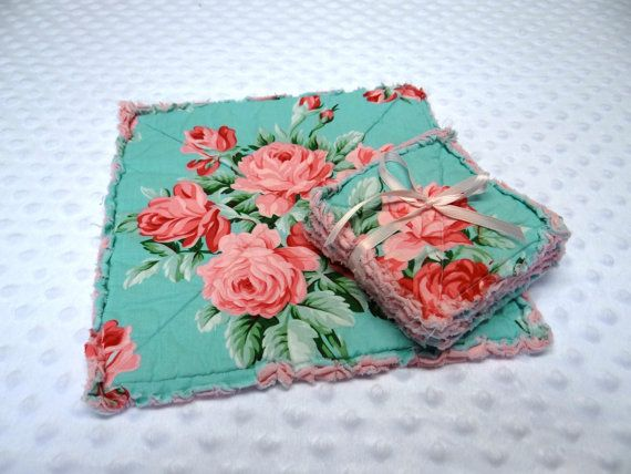 Hey, I found this really awesome Etsy listing at https://www.etsy.com/listing/175623132/cottage-chic-rag-candlemat-coasters-pink