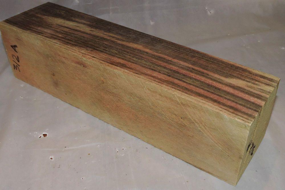 Blue Mahoe Wood 2x2x8 Turkey Box Calls AKA Blue Hawaii Scales Pool Cues Lumber