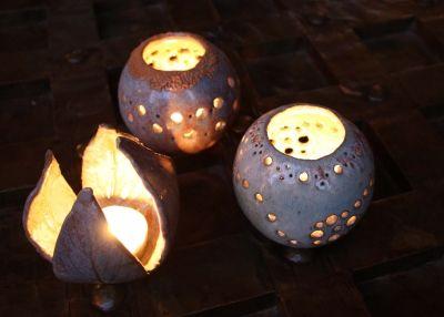 Candles noel pinterest p ques poterie et photophore - Modele poterie pour debutant ...