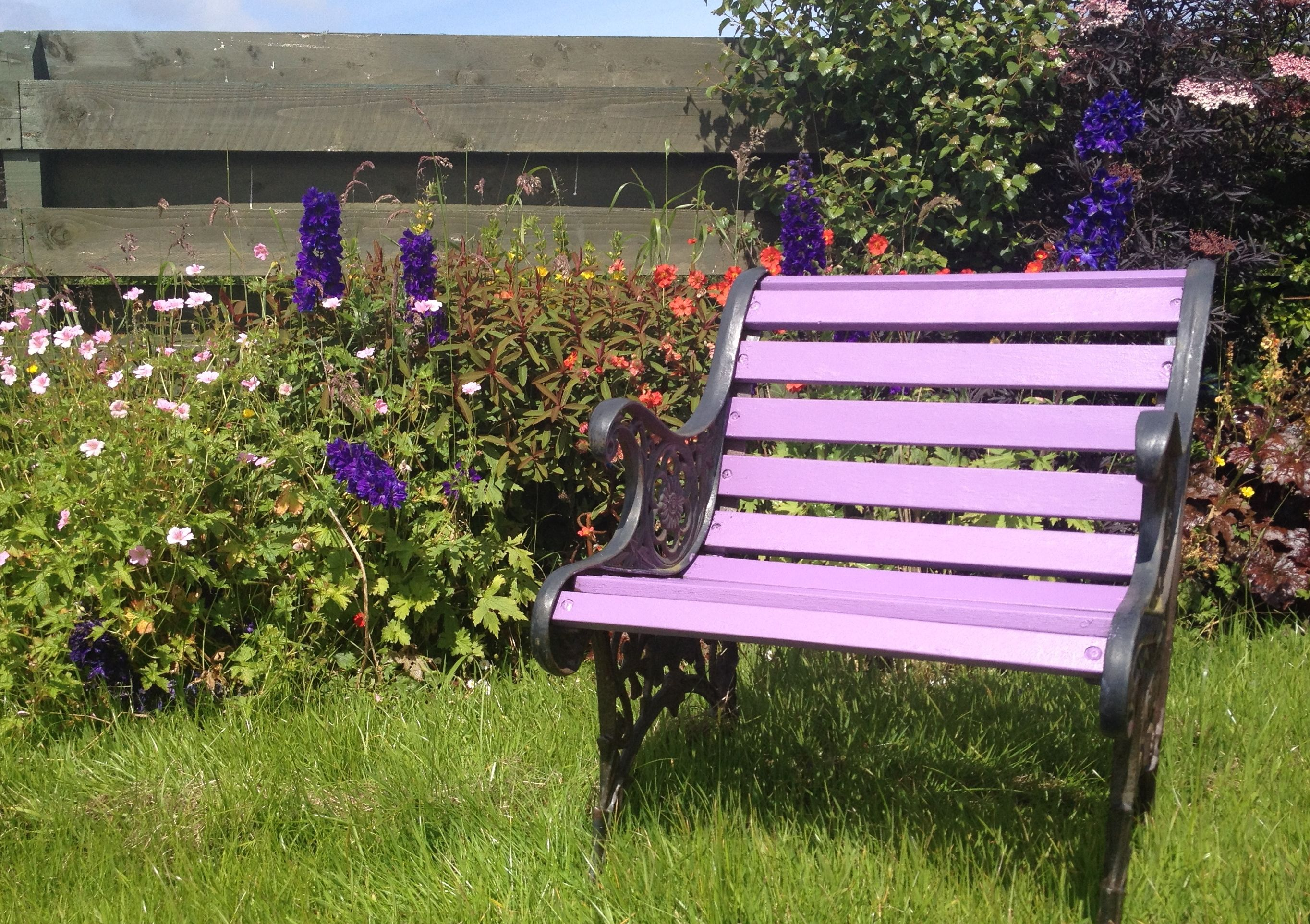 Pleasing Cuprinol Garden Shades Purple Pansy Garden Furniture Ncnpc Chair Design For Home Ncnpcorg