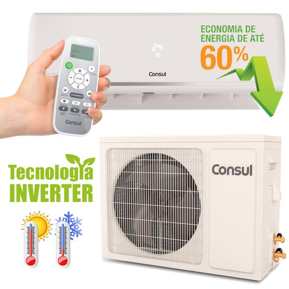 Ar Condicionado Split Inverter 12000 Btus Consul Quente E Frio