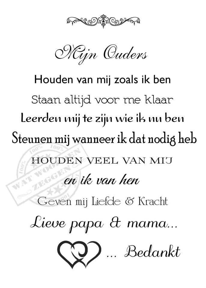 Mijn Ouders Teksten Lieve Teksten En Moeder Citaten