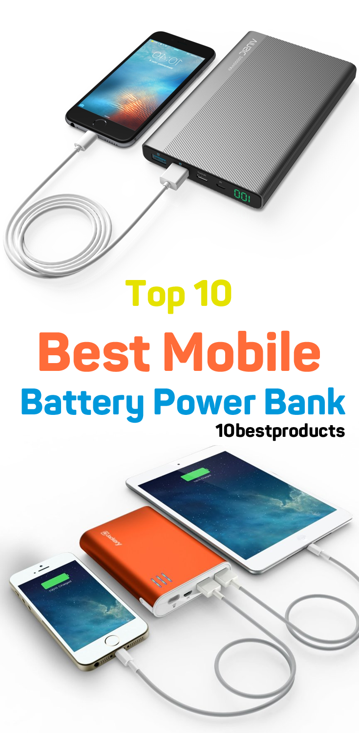 Top 10 Best Mobile Battery Power Bank 2020 UK 10BestProucts