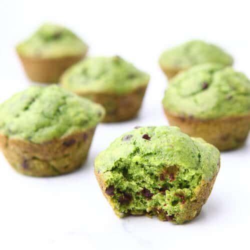Spinach Muffins - Healthy Hulk Muffins