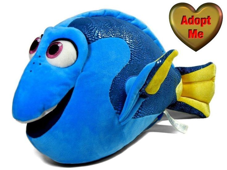 Build-A-Bear Disney Plüsch Gefüllte Findet Nemo Dory Fisch Cotton Candy Scented ...   - Vintage Plush Stuffed Animals And Collectibles For Sale! -