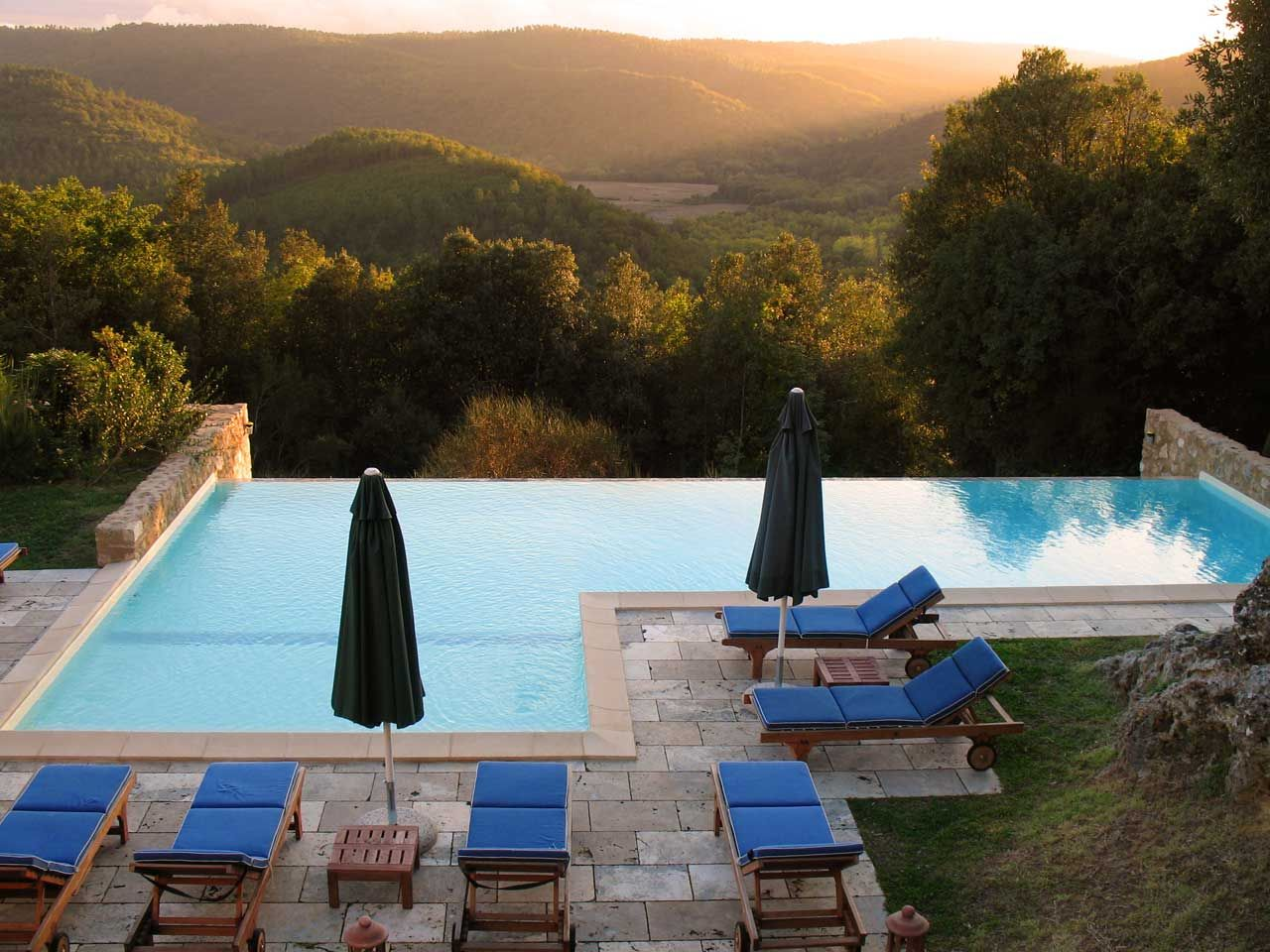 villas in tuscany siena - villa pipistrelli | *swimming pool
