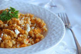 Tali's Tomatoes: No-Fuss Pumpkin Barley Risotto