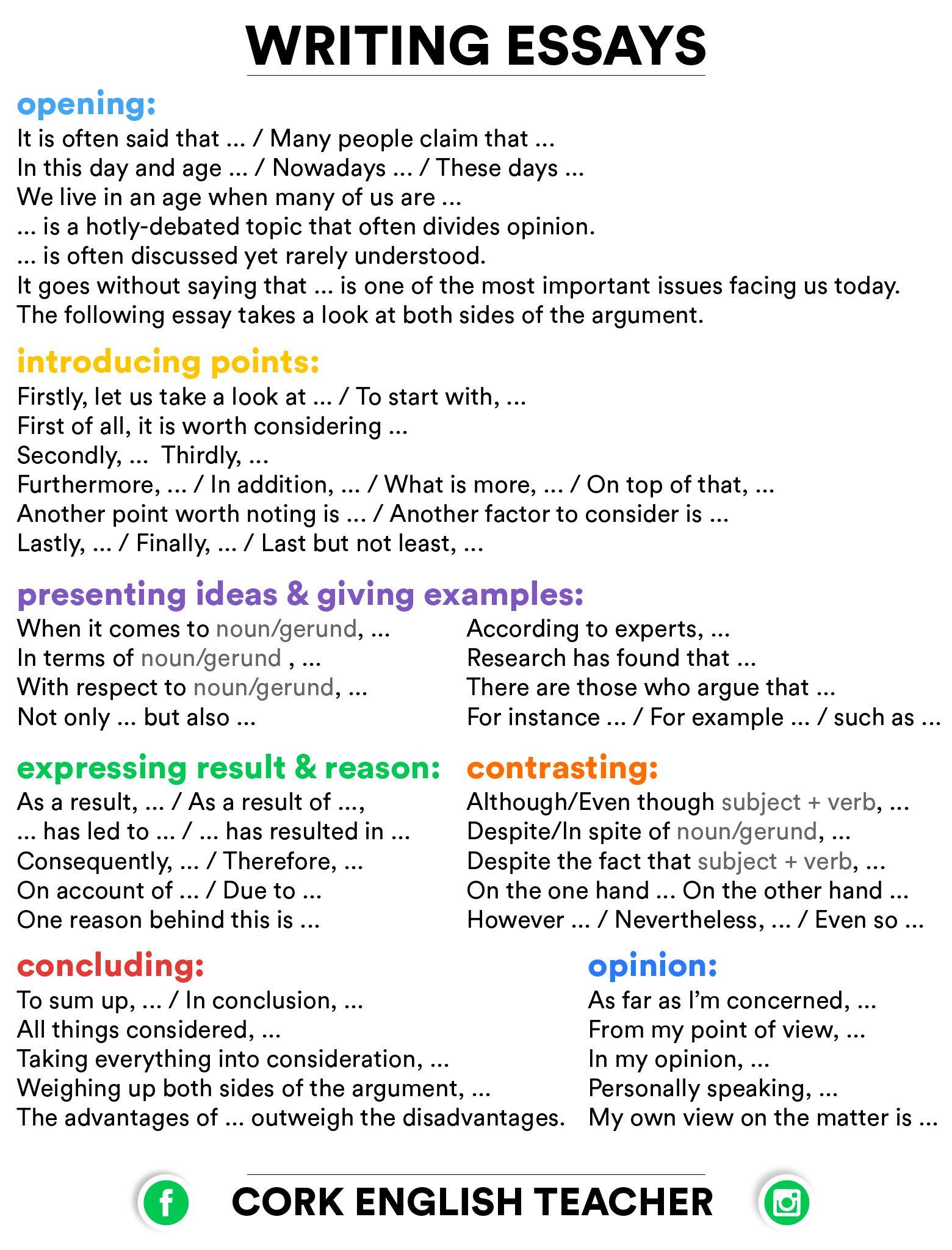 Related Image Essay Writing Skills Writing Expressions Essay Writing Tips