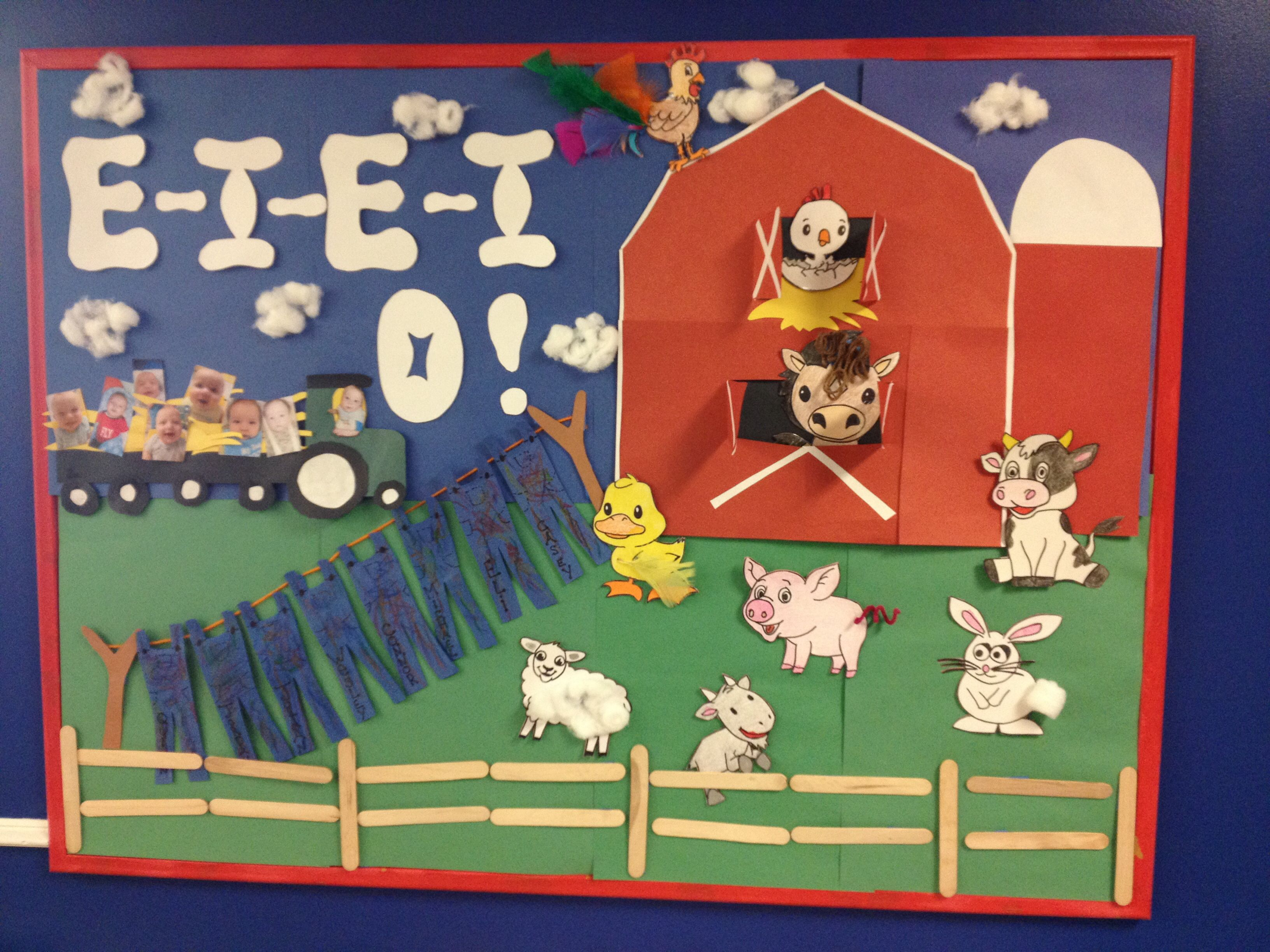 Farm Themed Bulletin Board