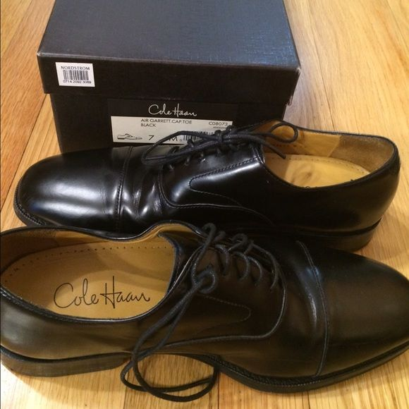Cole Haan mens size 7 loafers Cole Haan mens size 7 black loafers. Purchased at Nordstroms. Like new. Worn once. Cole Haan Shoes Flats & Loafers