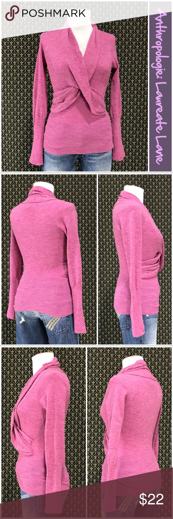 2006 Anthro Frannie Pullover By Laureate Lane Clothes Design
