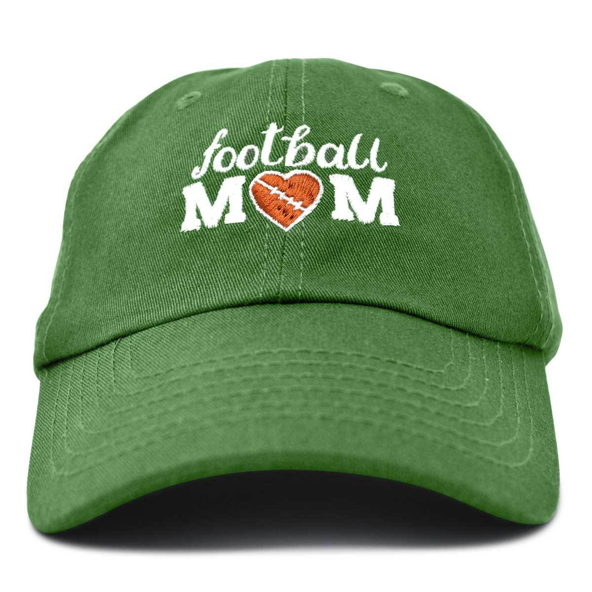 f404a6832ebfe DALIX Football Mom Baseball Cap Womens Dad Hats Adjustable Hat Mothers Day