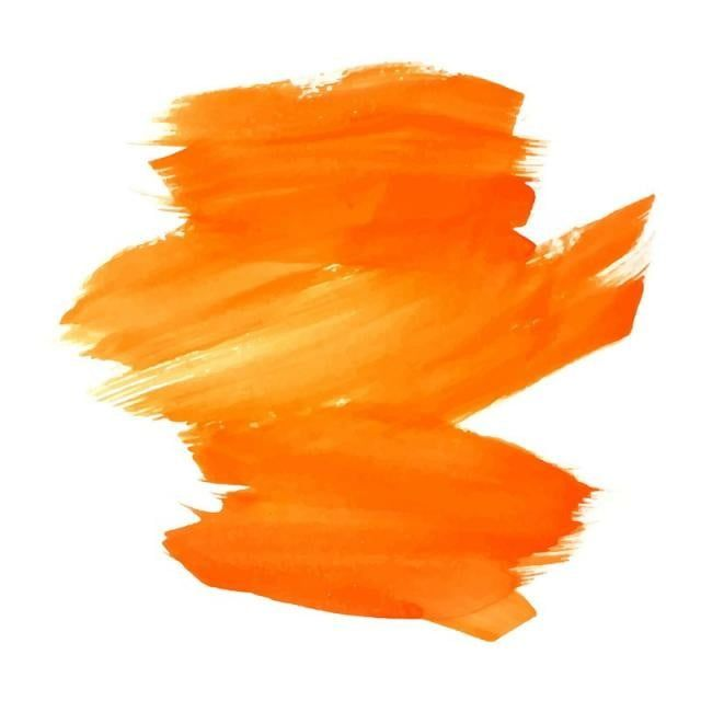 Modern Colorful Orange Stroke Color Background Abstract Background Paint Png And Vector With Transparent Background For Free Download Paint Vector Watercolor Background Orange Background