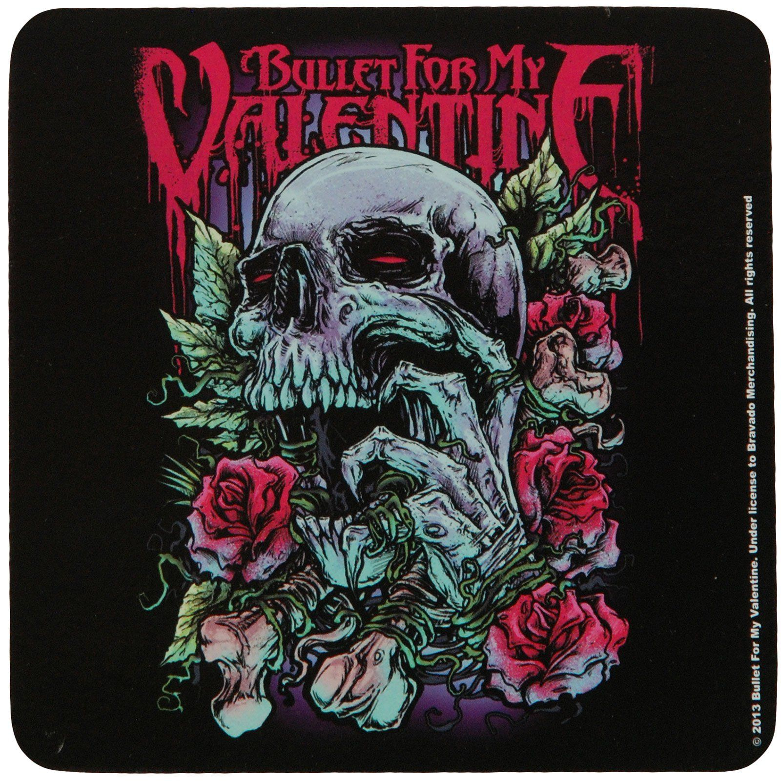 Skull Red Eyes Coaster - Default Title