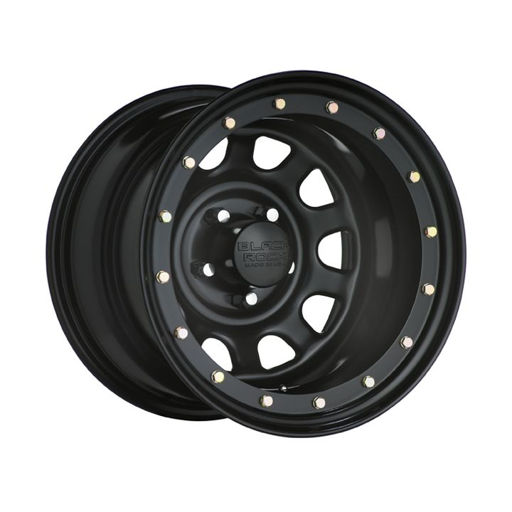 Black Rock Street Lock Series 952 Jeep Wheels Steel Wheels