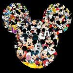 Mickey Collage by ~krezipau on deviantART