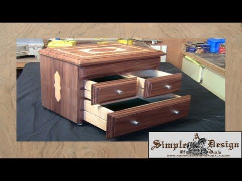 Making An Inlay Jewelry Box Part 2 A Simple Design Of Ocala Diy