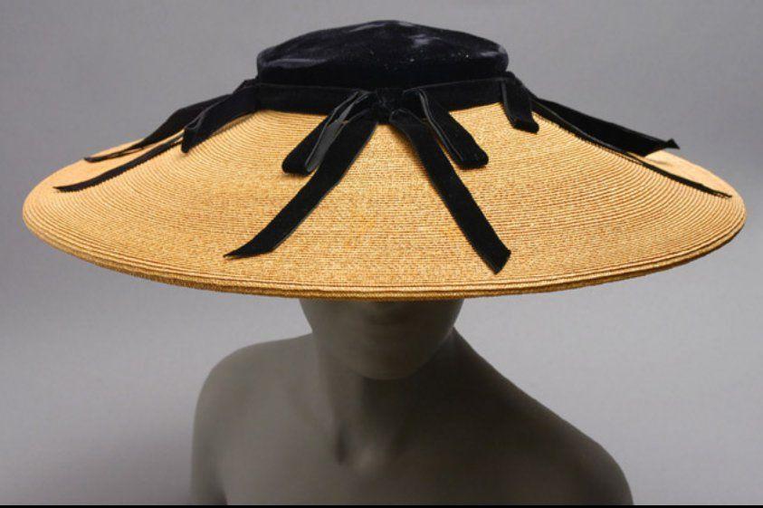 Woman's Hat  1968-38-4.  Philadelphia Museum of Art