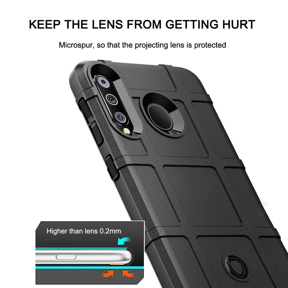 Rugged shield tpu case for samsung note series a series