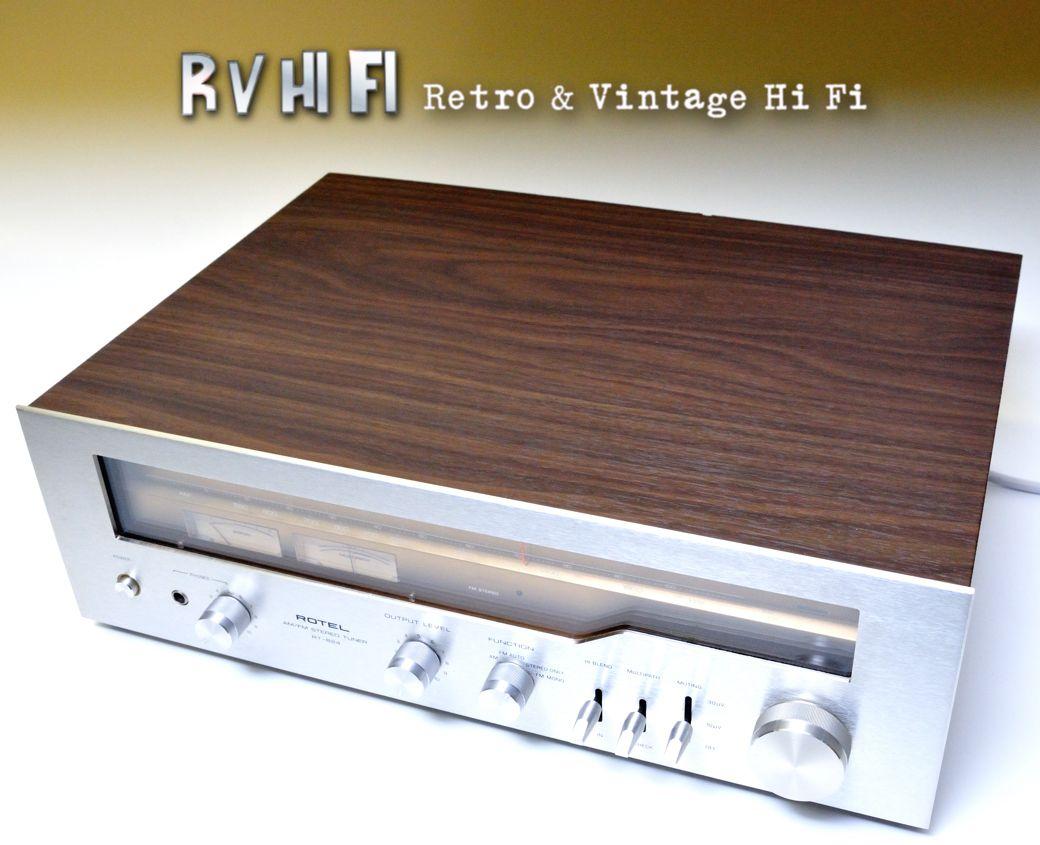 rotel ra 824 am fm stereo tuner rv hifi online store. Black Bedroom Furniture Sets. Home Design Ideas