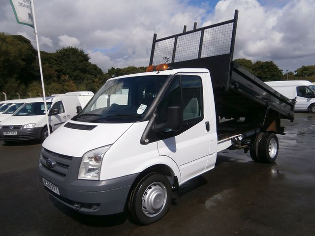 Ford Transit Tipper T350 Mwb S Cab 100ps 2010 Www Vanmonster Com Ford Transit Used Vans Van For Sale