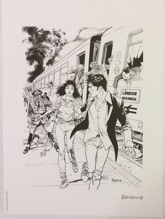 Brindisi, Bruno - lito Dylan Dog: Morgana - W.B.