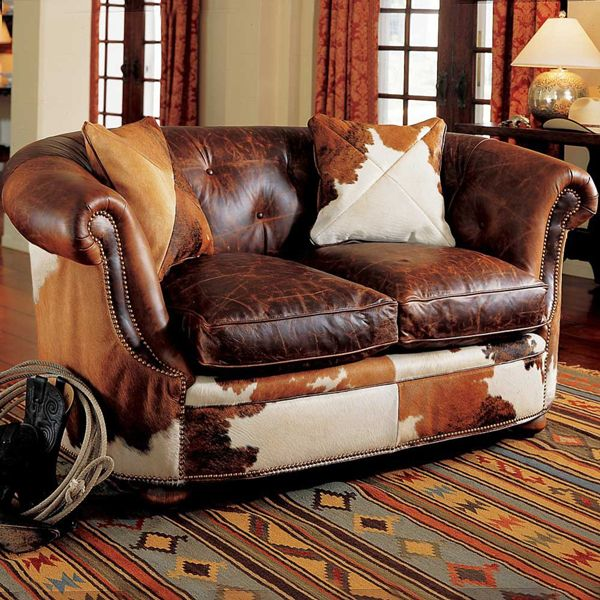 Lavish leather seating for the western home decor - San marcos craigslist farm and garden ...