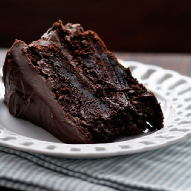 Chocolate Cake, Almonds