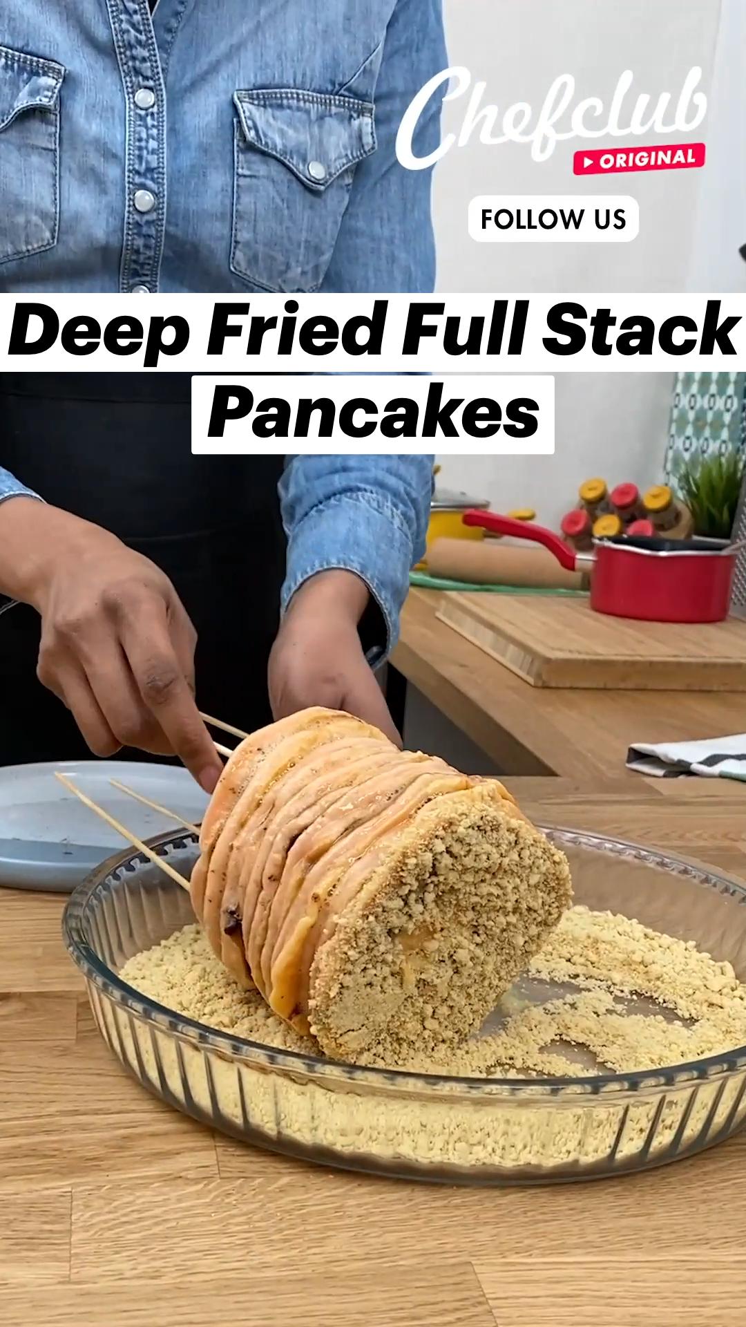Deep Fried Full Stack Pancakes