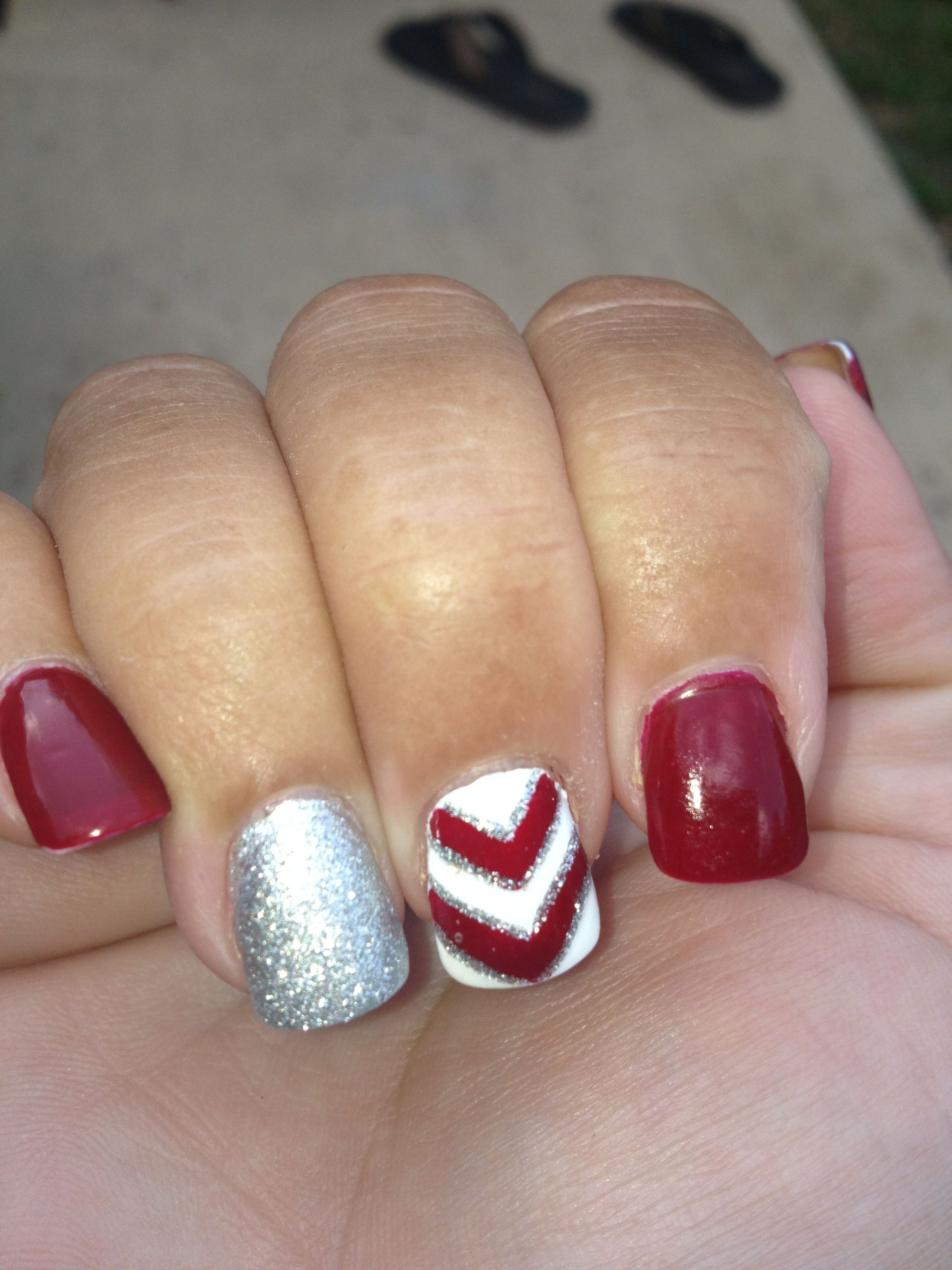 Nails done by Nikki at Fancy Nails, Fayetteville, Ar. | Nail envy ...