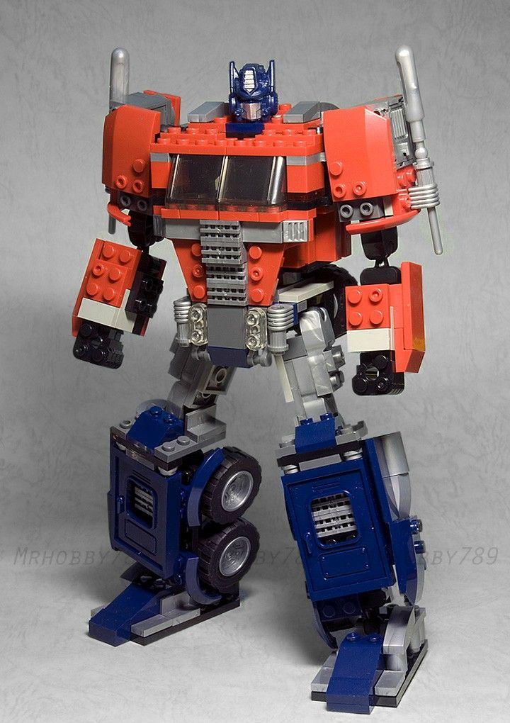 Kre O Optimus Prime Customized Build Toys I Want Pinterest