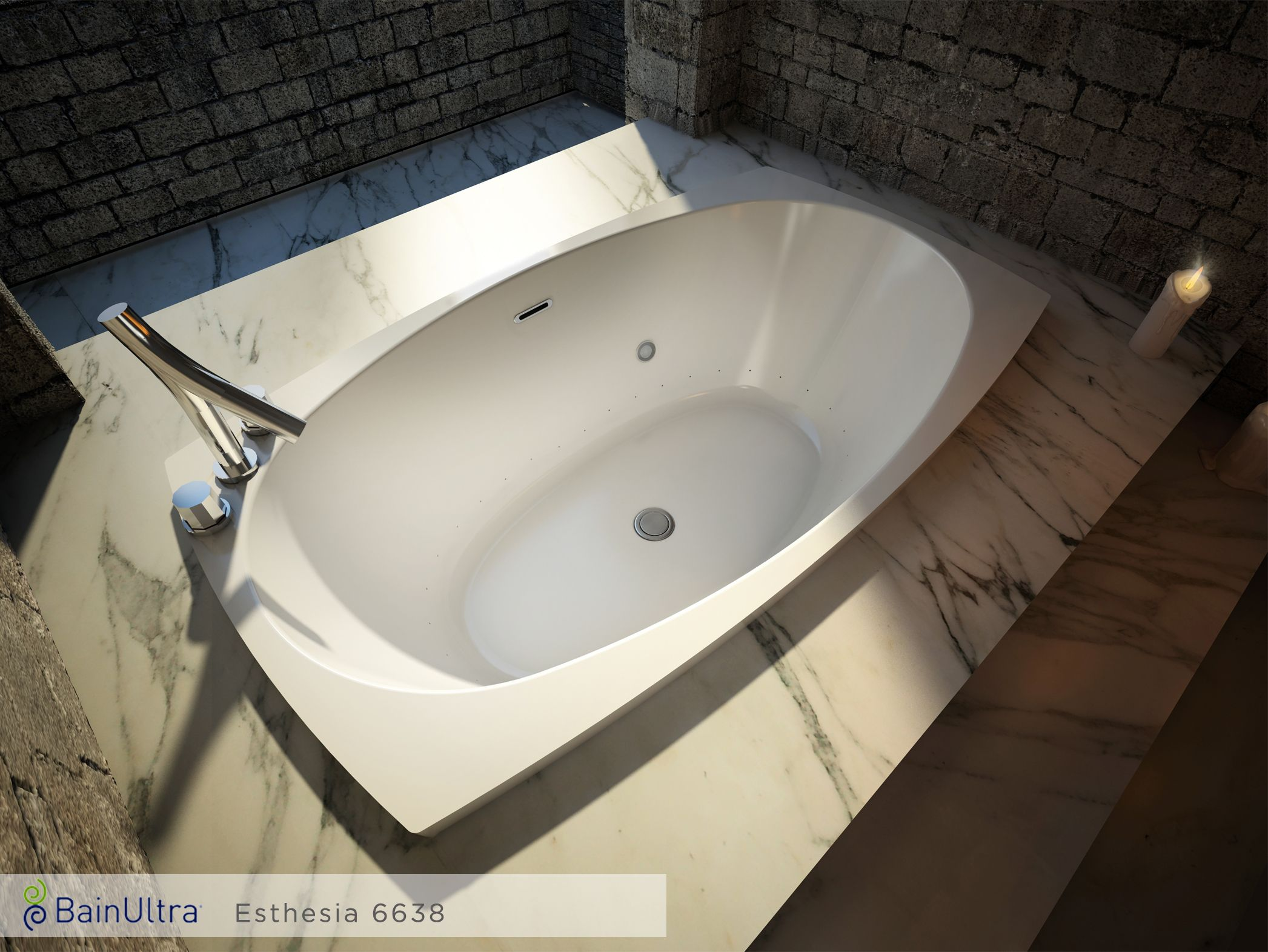 Superb Esthesia™ 6638 Freestanding Air Jet Tubs Make The Perfect Centerpiece Of  Your Own Private Luxury Spa Bathroom. These Therapeutic Bathtubs Are Made  ...