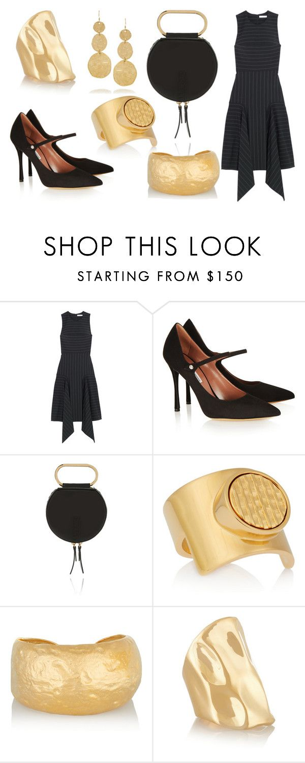 """""""Sans titre #1029"""" by carla-afonso on Polyvore featuring mode, Dion Lee, Tabitha Simmons, 3.1 Phillip Lim, Chloé, Kenneth Jay Lane et Jennifer Fisher"""
