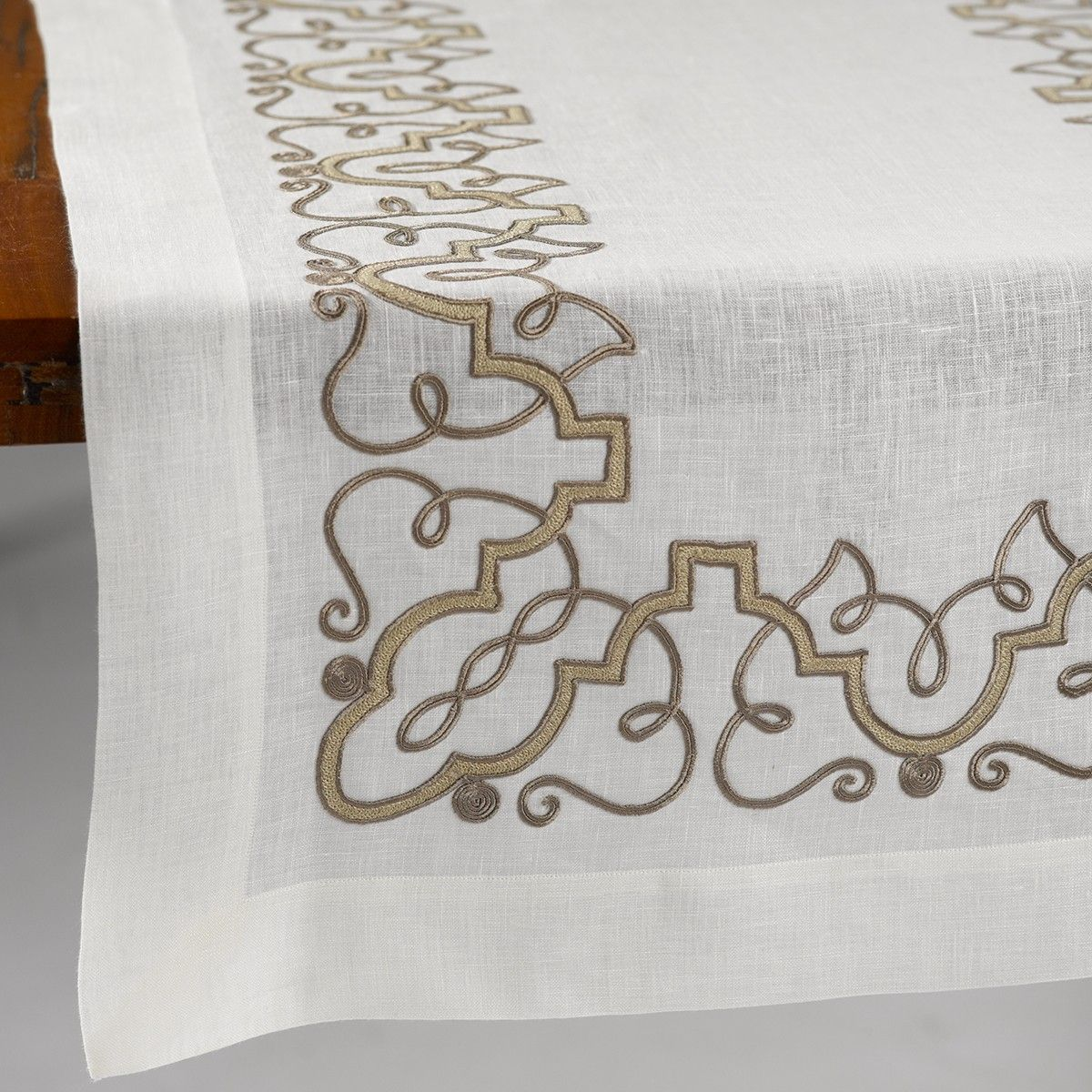 ANICHINI La Collezione Moroccan Table Linens | Artisan Handmade Napkins,  Placemats, Runners, And Tablecloths