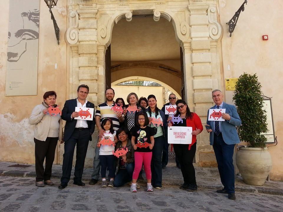 Ag-Palazzo Panitteri #invasionecompiuta #invasionidigitali #siciliainvasa2015