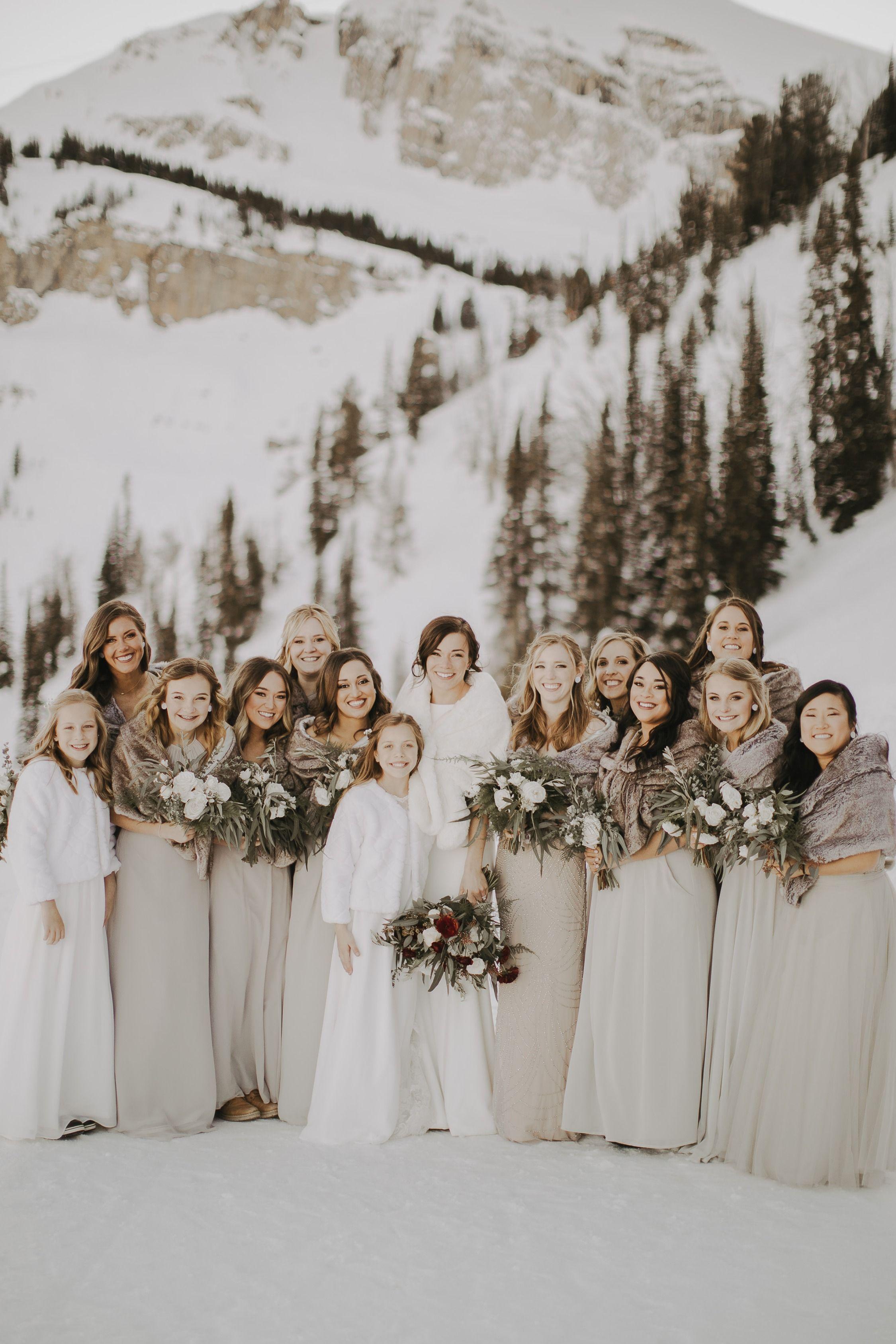 Shop By Neutral Brideside Winter Wedding Bridesmaids Neutral Bridesmaid Dresses Winter Bridesmaid Dresses