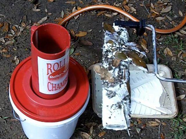 15 Second Paint Roller Cleaner Dryer Reuse Paint Rollers By Scott Wallis Kickstarter Paint Roller Cleaner Paint Roller Diy Cleaners
