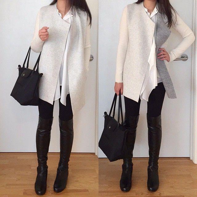loft merino wool open sweater jacket and h m