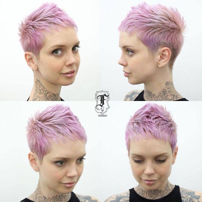 Pretty in Pink: Diese 10 Kurzhaarfrisuren in süßen Pinkfarben ...