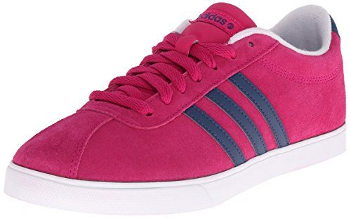 Adidas neo mujer 's courtset W Lace Pink - up zapatos, Bold Pink Lace / HTTPS 271c58