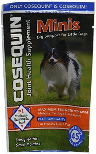 Cosequin Minis Soft Chews Maximum Strength With Msm Plus Omega3 45