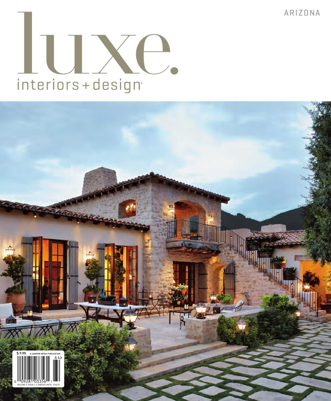 LUXE Interior Design Arzona 13 Interior design magazine Idea