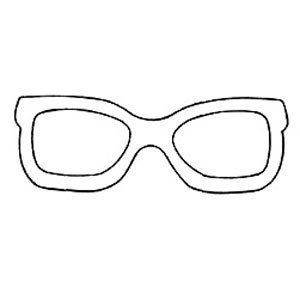 Sunglasses Template Google Search Coloring Pages Sewing Patterns Free Quilting Templates