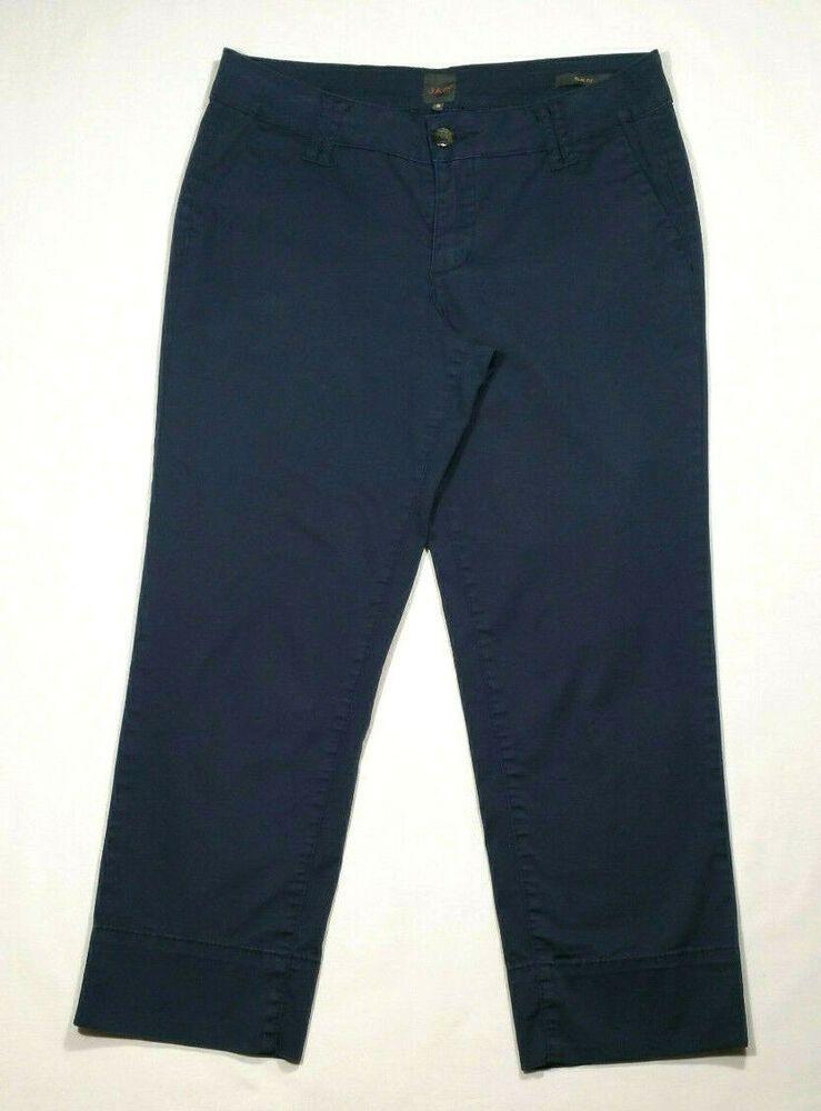 Halogen Women/'s Capri Casual Pants Navy Blue Size 6P