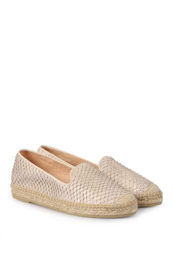 3174990a3fd0 kanna Leder-Espadrilles Dora in Snake-Optik bei myClassico - Premium  Fashion Online Shop