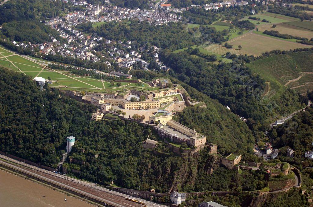 Flug Von Koblenz Entlang Am Rhein Fliegertagebuch Mit Luftbild Und Luftaufnahme Koblenz Luftaufnahme Luftbild